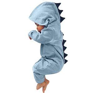 Other - Adorable Blue Dinosaur Infant Sleeper